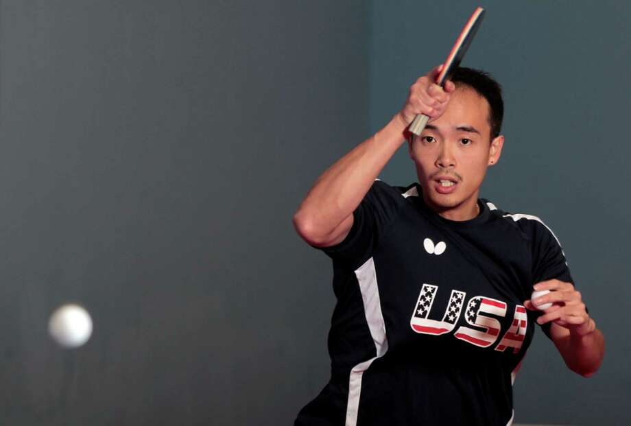 Timothy Wang will provide a voice of experience for the U.S. table tennis team in Rio then hopes to expand the sport and people's perspective of it in Houston when he returns. Photo: James Nielsen, Staff / © 2016  Houston Chronicle