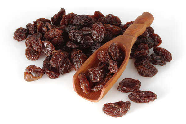 Golden raisins soaked in gin have been used to curb joint paint. The jury is out on whether black raisins will work as well as their pale counterparts.