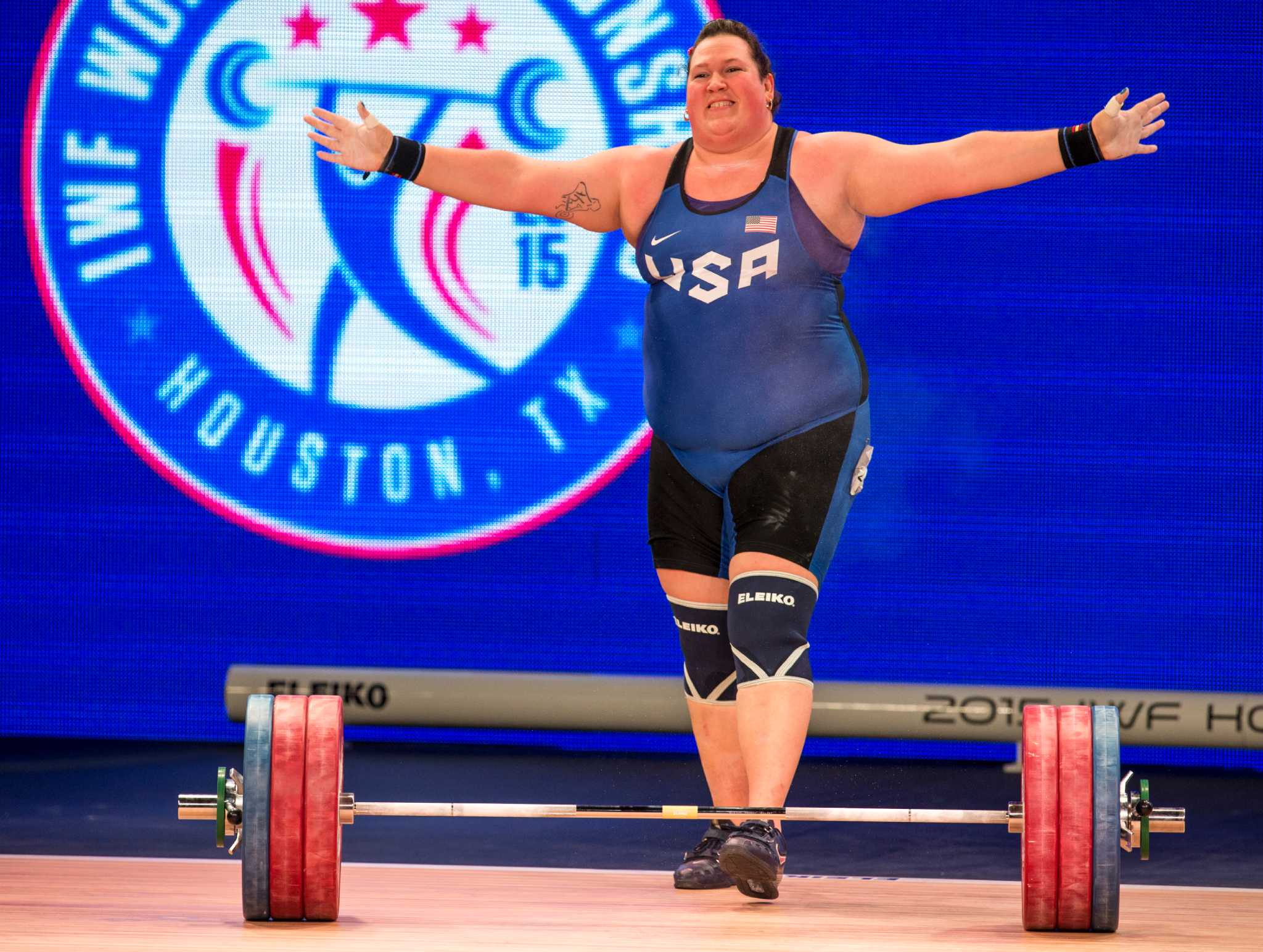 Weightlifter Sarah Robles Finds Way To Rio Through Houston Houstonchronicle Com