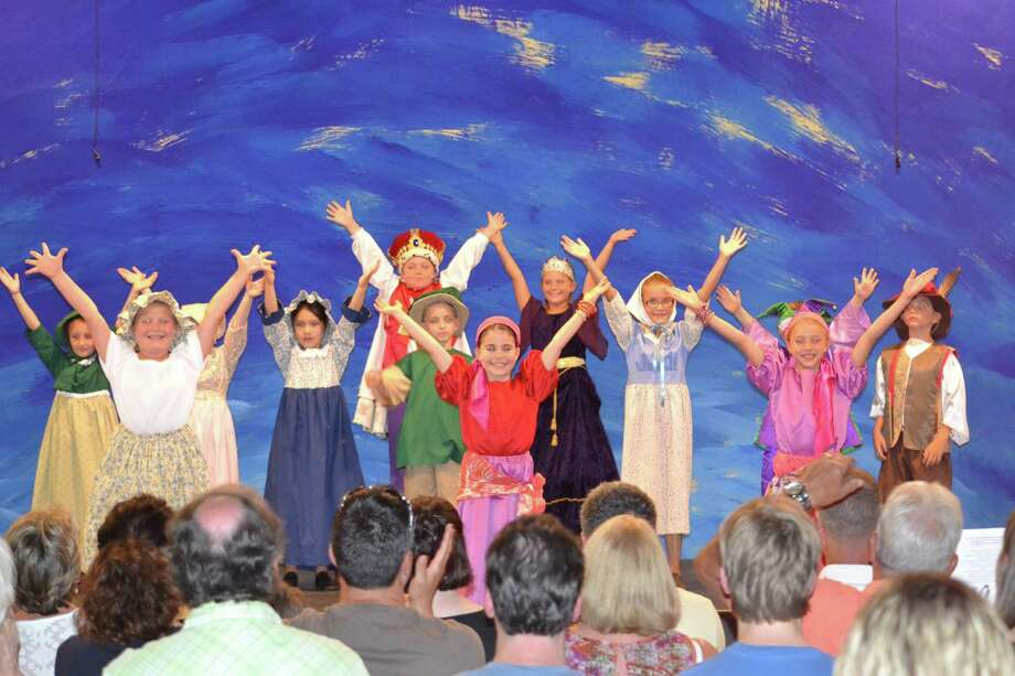 The Columbia County Youth Theatre performed a musical version of the children?s tale, The Emperor?s New Clothes, at the Chatham Fairgrounds on July 21. It was the culmination of ?Funshop?, a three-week theater camp, and part of a summer repertoire of experiences for young people. Cast members ranged in age from 6 to 9 and included Aidan Brennan; Samantha Silver; Emilia Sandagato; Lennox Grout; Clementine Kline; Jade Amerling; Mason Hutchinson; Marianna; Rosa Adelsberg; Elizabeth Spensieri; Lida Sau-Lan Strodl; Evan Murray; and Lion Bianchi.  The show was directed by Billie Joe Allen and Eileen Maloy. Further information regarding CCYT can be found at http://columbiacountyyouththeatre.org.