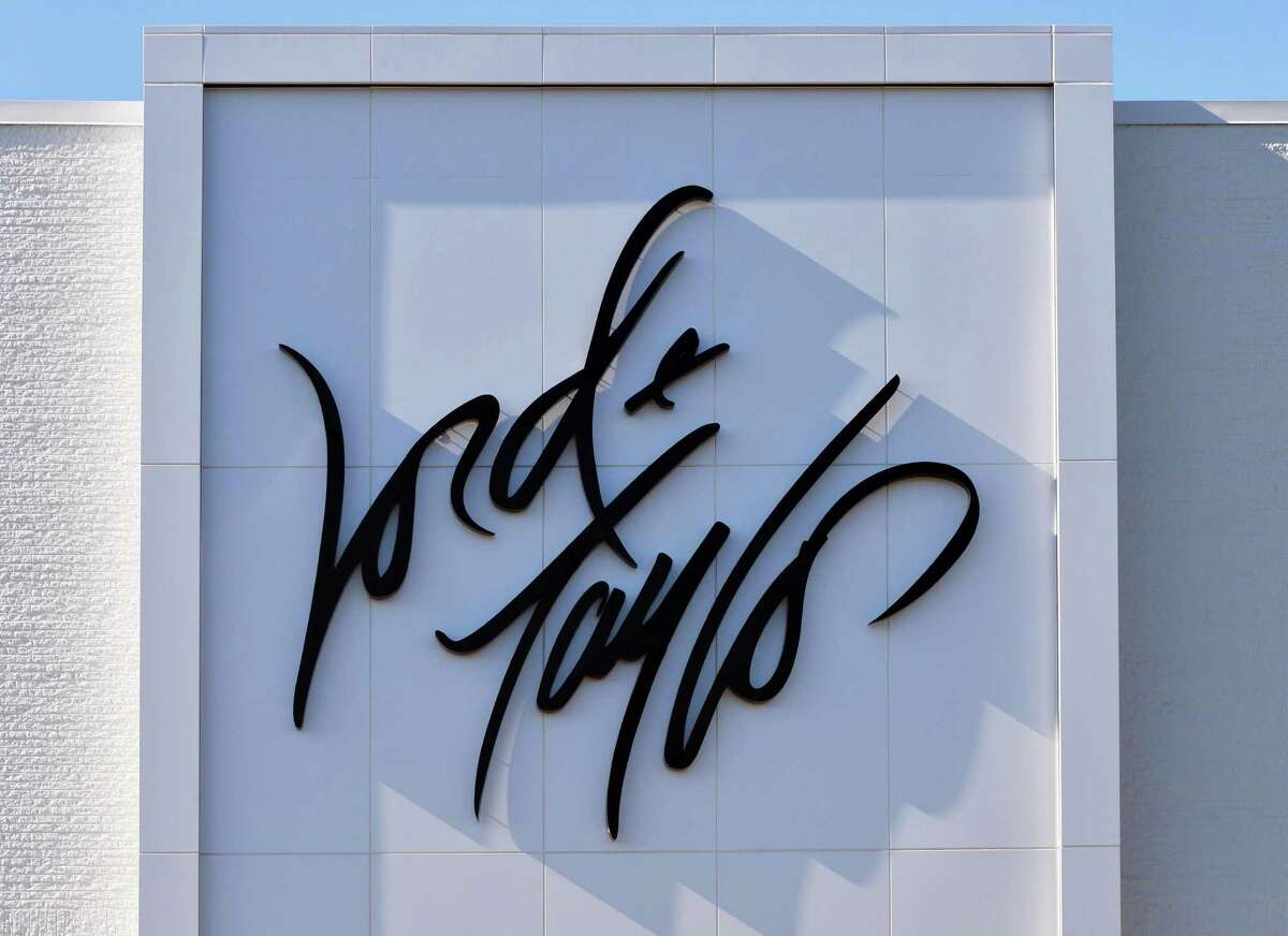 Sign on the new Lord & Taylor store in Crossgates Mall Wednesday Sept. 17, 2014, in Guilderland, NY. The retailer is planning to close the stores as well as several others as it deals with bankruptcy.(John Carl D'Annibale / Times Union archive)