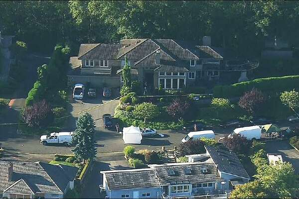 Police investigate a shooting at a home in Mukilteo.