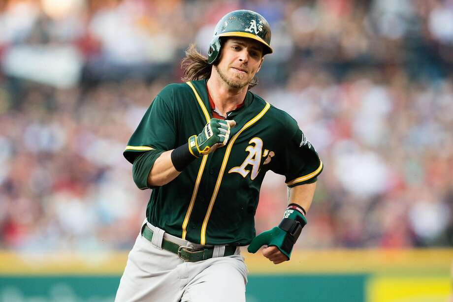 Josh Reddick is thrilled to be joining the Dodgers and his arrival will be a welcome sight for manager Dave Roberts. Photo: Jason Miller, Getty Images
