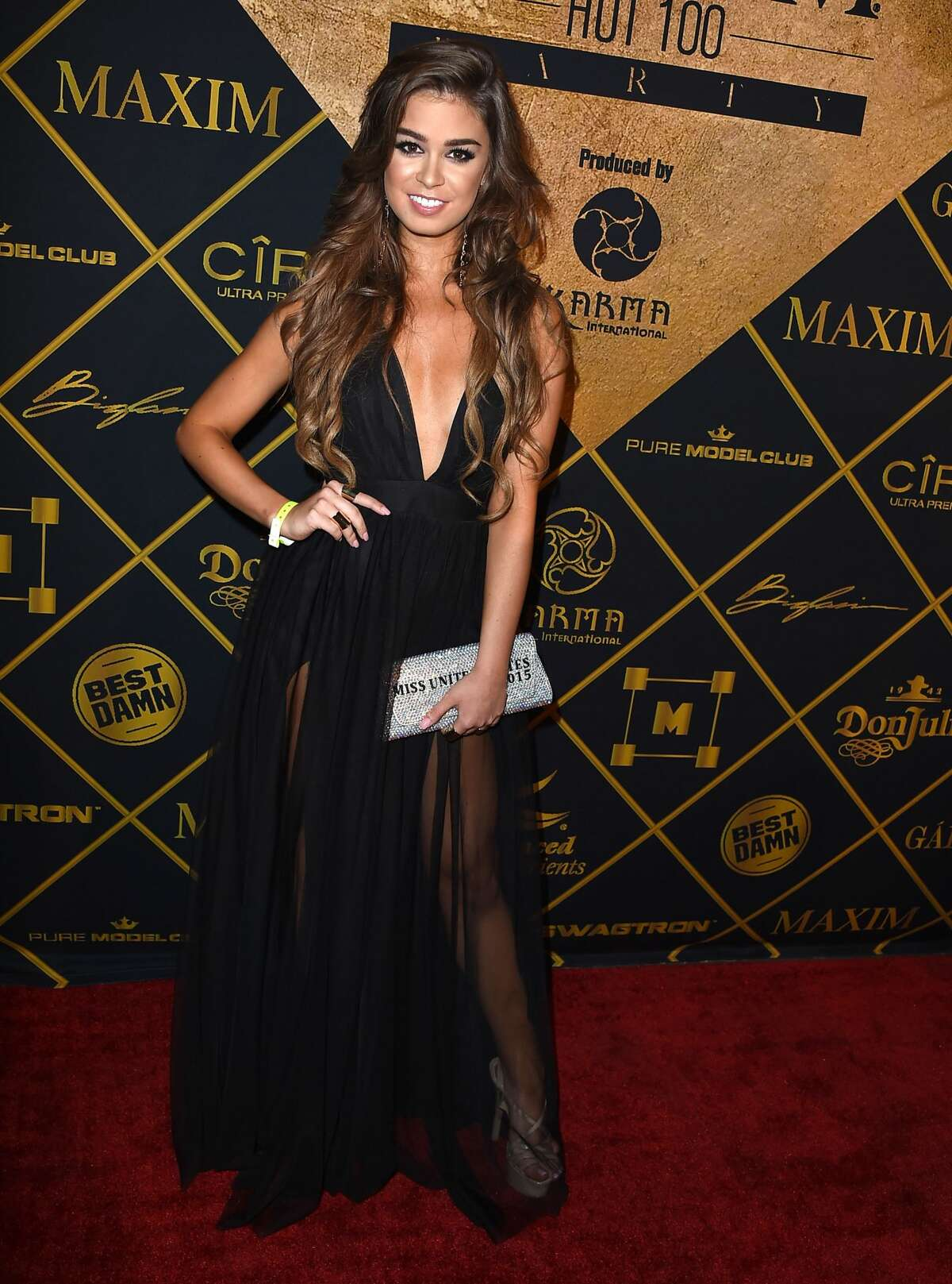 Kara Del Toro arrives at the Maxim Hot 100 Party on July 30, 2016 in Los Angeles, California. (Photo by Steve Granitz/WireImage)
