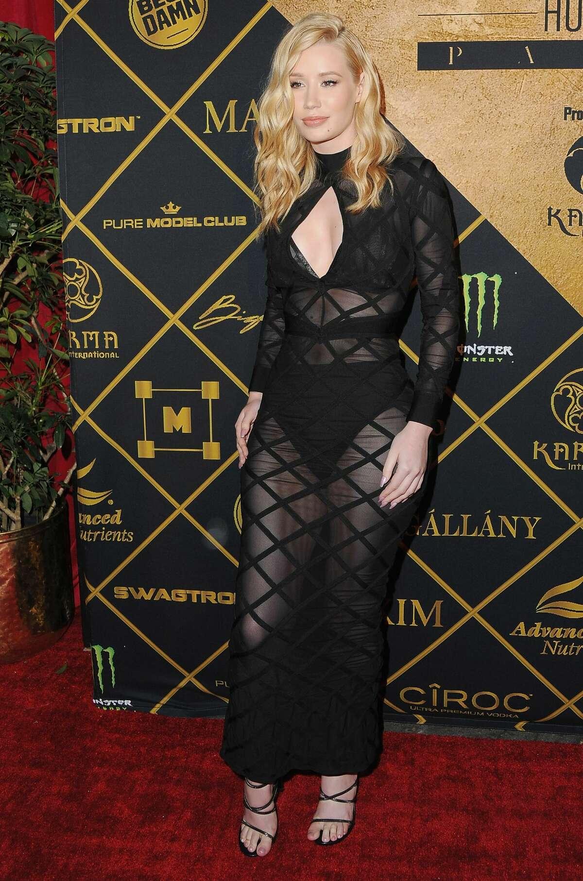 Recording artist Iggy Azalea arrives at the Maxim Hot 100 Party at the Hollywood Palladium on July 30, 2016 in Los Angeles, California. (Photo by Jon Kopaloff/FilmMagic)