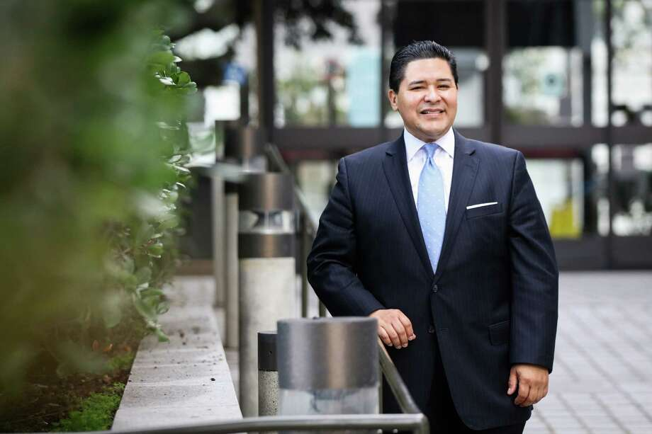San Francisco's superintendent, Richard Carranza poses for a portrait outside his office in San Francisco, California on Monday, January 4, 2016. Photo: Gabrielle Lurie, Freelance / ONLINE_YES