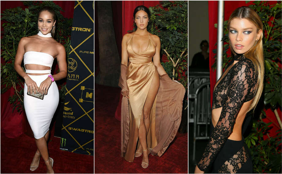 >> Click the gallery to see some of the looks from the Maxim Hot 100 party.