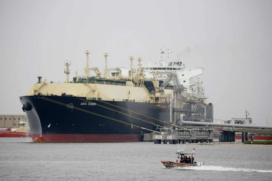 Cheniere Energy Inc. has sent 19 tankers of the liquefied gas abroad from its Sabine Pass terminal in Louisiana. By 2020, five terminals will be operating on the U.S. Gulf Coast and in Maryland. Global export capacity will surge 45 percent and the U.S.'s share will jump to 14 percent from nothing, according to Energy Aspects Ltd. Photo: Eric Kayne /Bloomberg News / Bloomberg