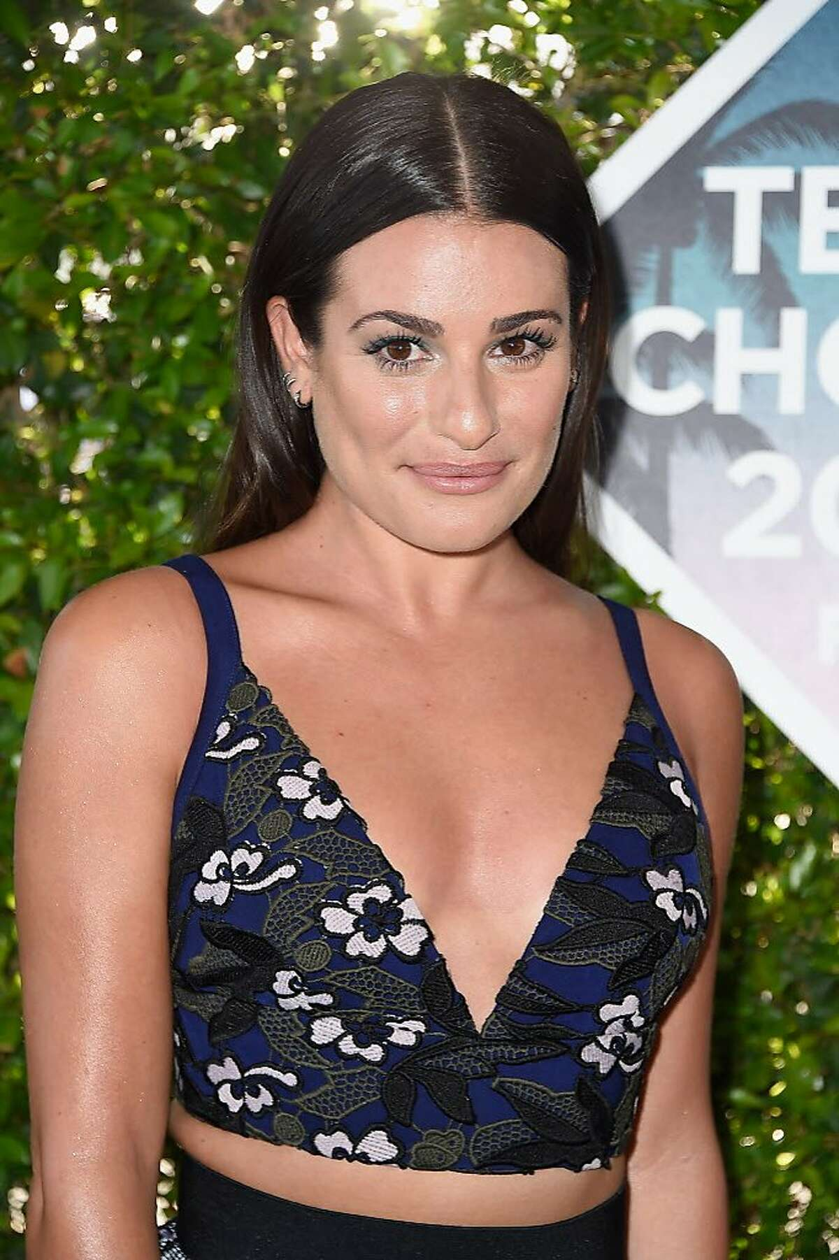Actress Lea Michele attends the Teen Choice Awards 2016 at The Forum on July 31, 2016 in Inglewood, California.