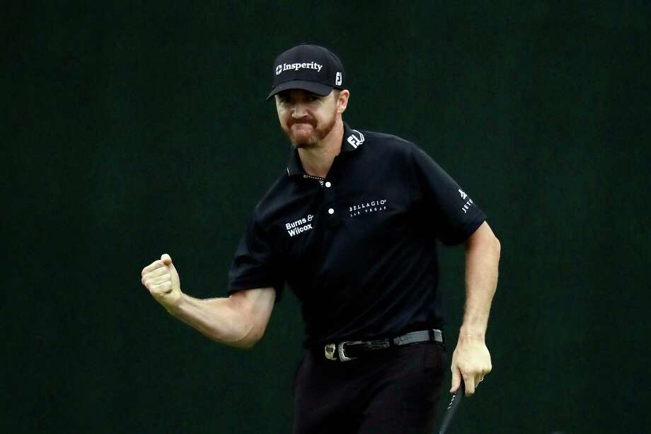 Never has sinking a par putt felt so good as Jimmy Walker puts the finishing touch on his final round to win the PGA Championship on Sunday - the first major title for the 37-year-old Texan. Photo: Andy Lyons, Staff / 2016 Getty Images