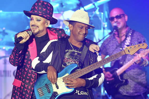 Culture Club performs at Revention Music Center, Sunday, July 31, 2016, in Houston.