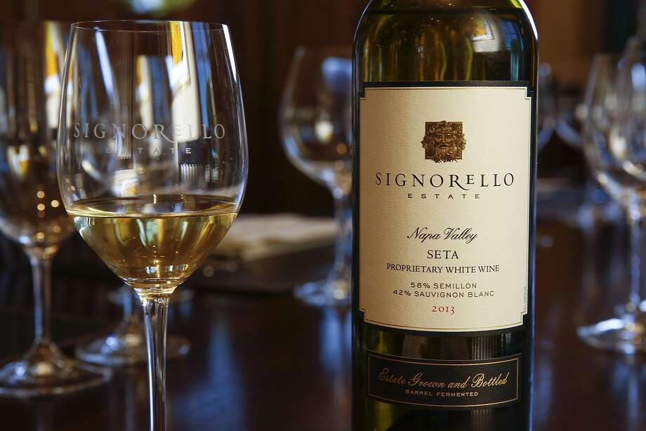Signorello 2013 Seta is ready for the wine pairing tasting. Photo: Craig Lee, Special To The Chronicle