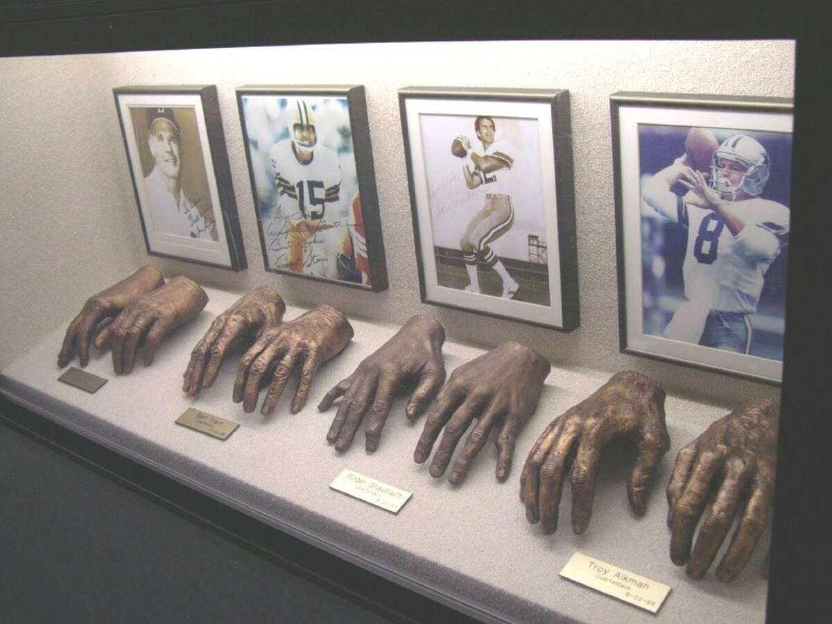 Dr. Adrian Flatt, one of the best hand surgeons in the industry, collected hand casts, starting with those of his colleague's hands. He's still alive and a part of the hospital's family at age 95.