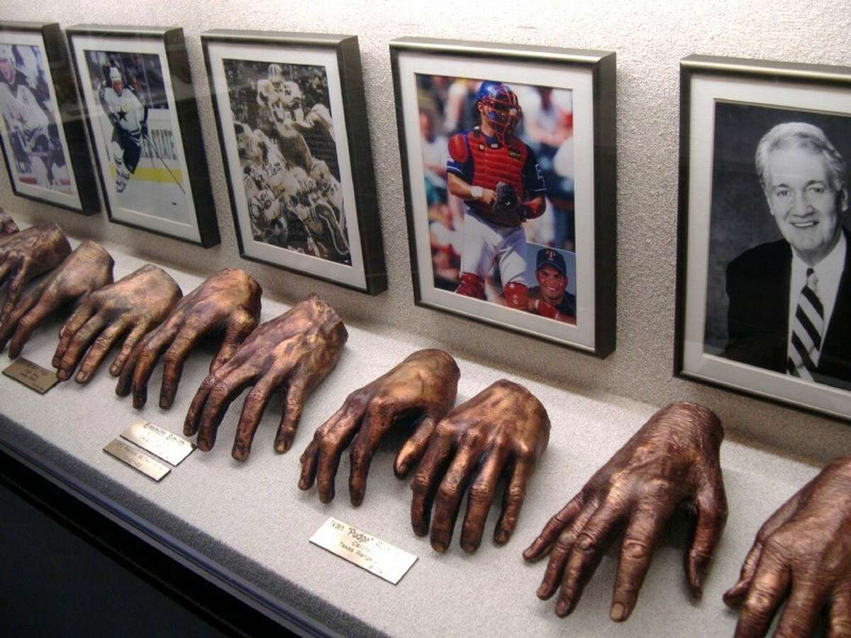 The Adrian E. Flatt, M.D., Hand Collection features more than 100 casts of hands of some of the world's most renowned names in art, politics, sports and exploration.