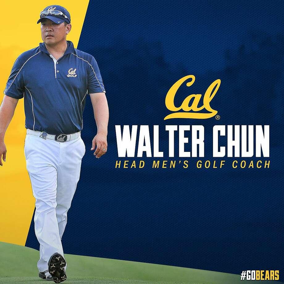 Walter Chun was named Cal's head men's golf coach Monday. Photo: Cal Athletics