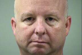 Bexar County Precinct 3 Commissioner Kevin Wolff, seen in a Sunday , July 31, 2016 booking mug provided by the Bexar County Sheriff's office, was arrested and charged with Driving While Intoxicated at 3 a.m. Sunday after allegedly running into two vehicles at a Whataburger in the 1000 block of San Pedro Avenue.