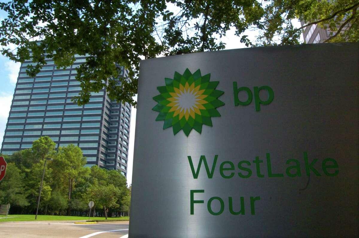 BP's WestLake One building on the left and WestLake Four. (Photo taken Thursday, September 14, 2006) (Johnny Hanson for the Houston Chronicle)