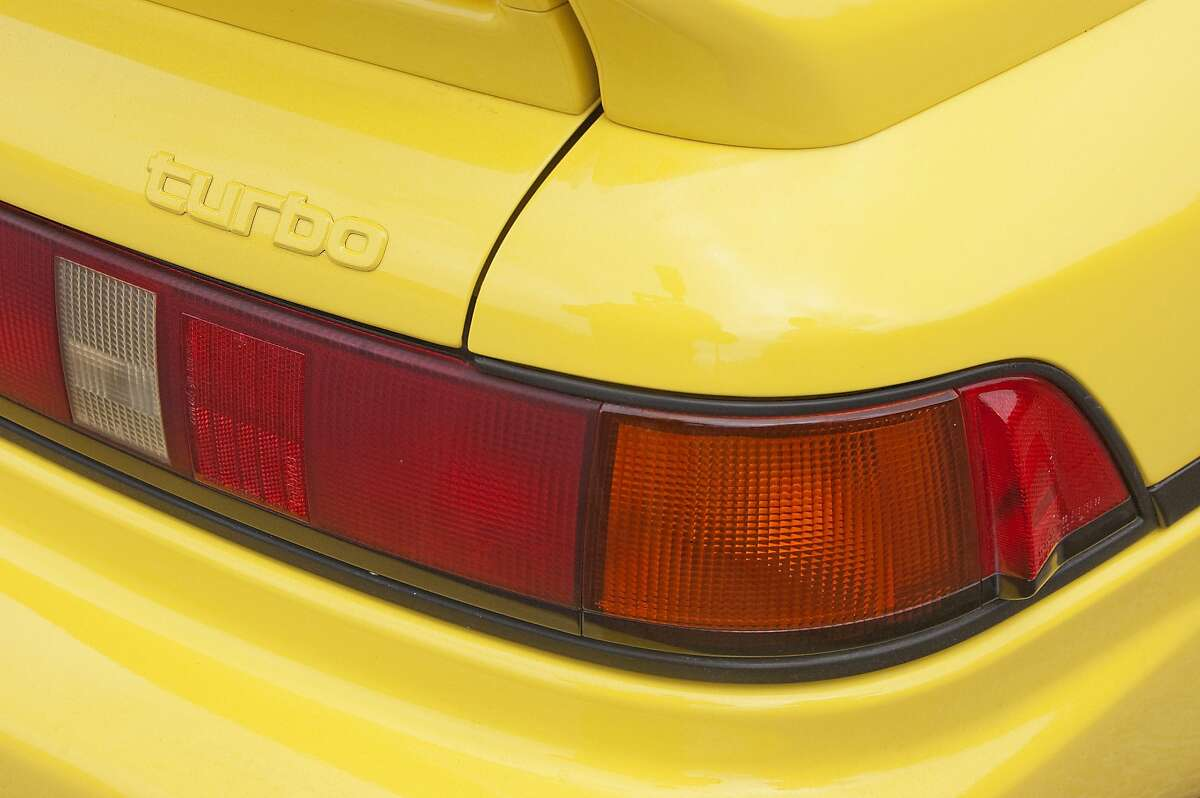 1993 Toyota MR2 Turbo of Rosario Sapienza photographed on June1, 2016 in Strawberry, Tiburon, California