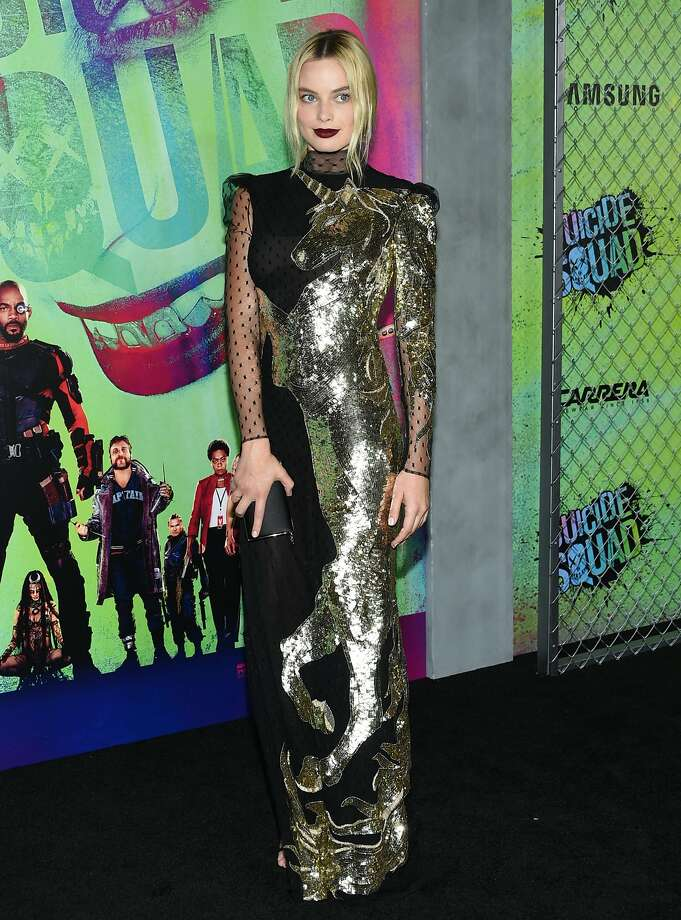 "Margot Robbie attends the world premiere of ""Suicide Squad"" at the Beacon Theatre on Monday, Aug. 1, 2016, in New York. (Photo by Evan Agostini/Invision/AP) Photo: Evan Agostini, Associated Press"