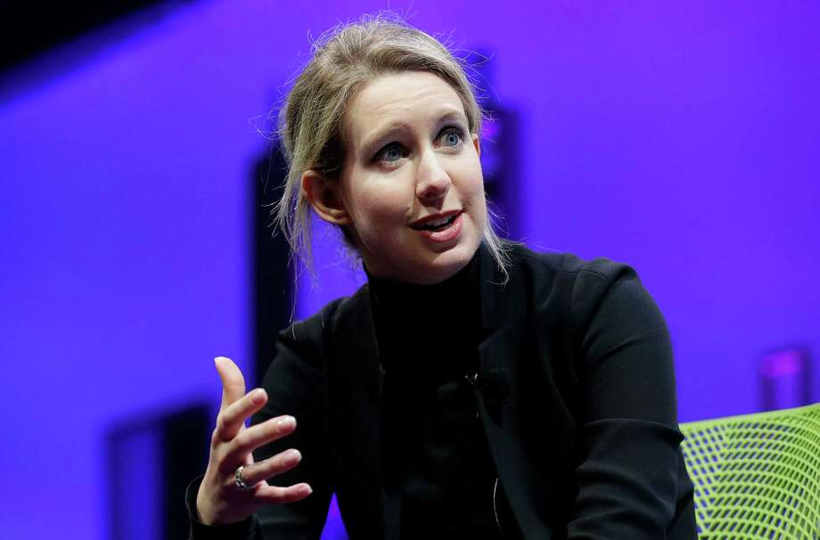 "Theranos CEO Elizabeth Holmes is facing a two-year ban by U.S. regulators from running a clinical testing company. Theranos is ""working diligently to rectify all outstanding issues,"" Holmes said Monday.  Photo: Jeff Chiu, STF / Copyright 2016 The Associated Press. All rights reserved. This material may not be published, broadcast, rewritten or redistribu"