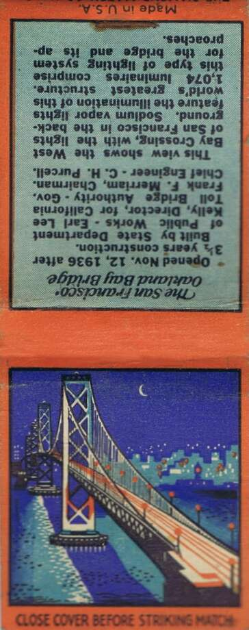 Vintage matchbooks from the 1940s, with San Francisco related covers. From the collection of Bob Bragman Photo: Bob Bragman