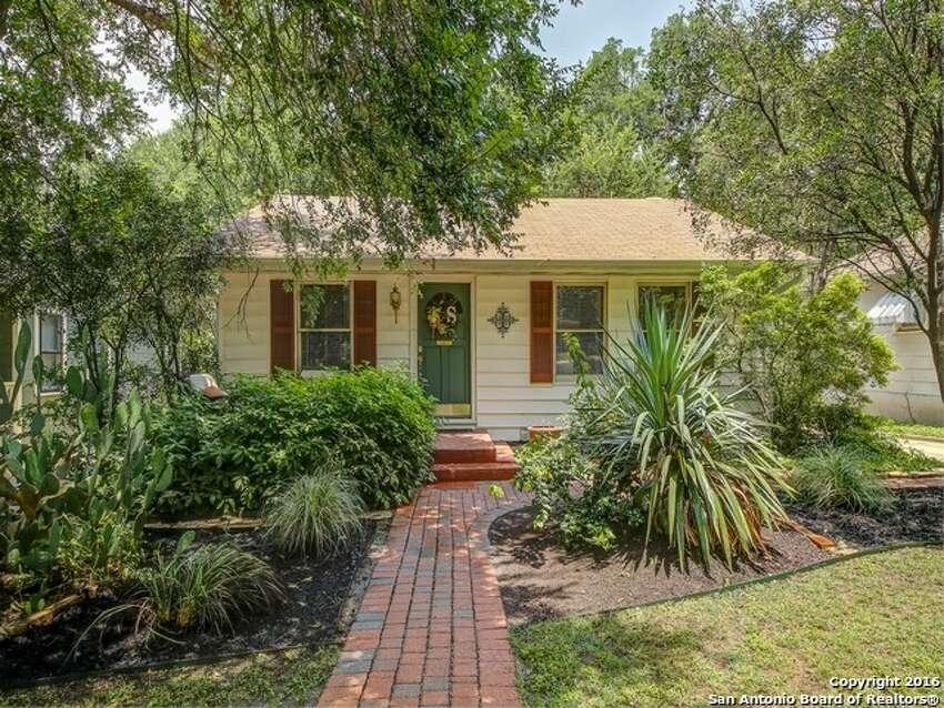 1. Alamo Heights ISD427 Corona Ave.: $349,0002 beds / 1 bath / 1,052 square feet