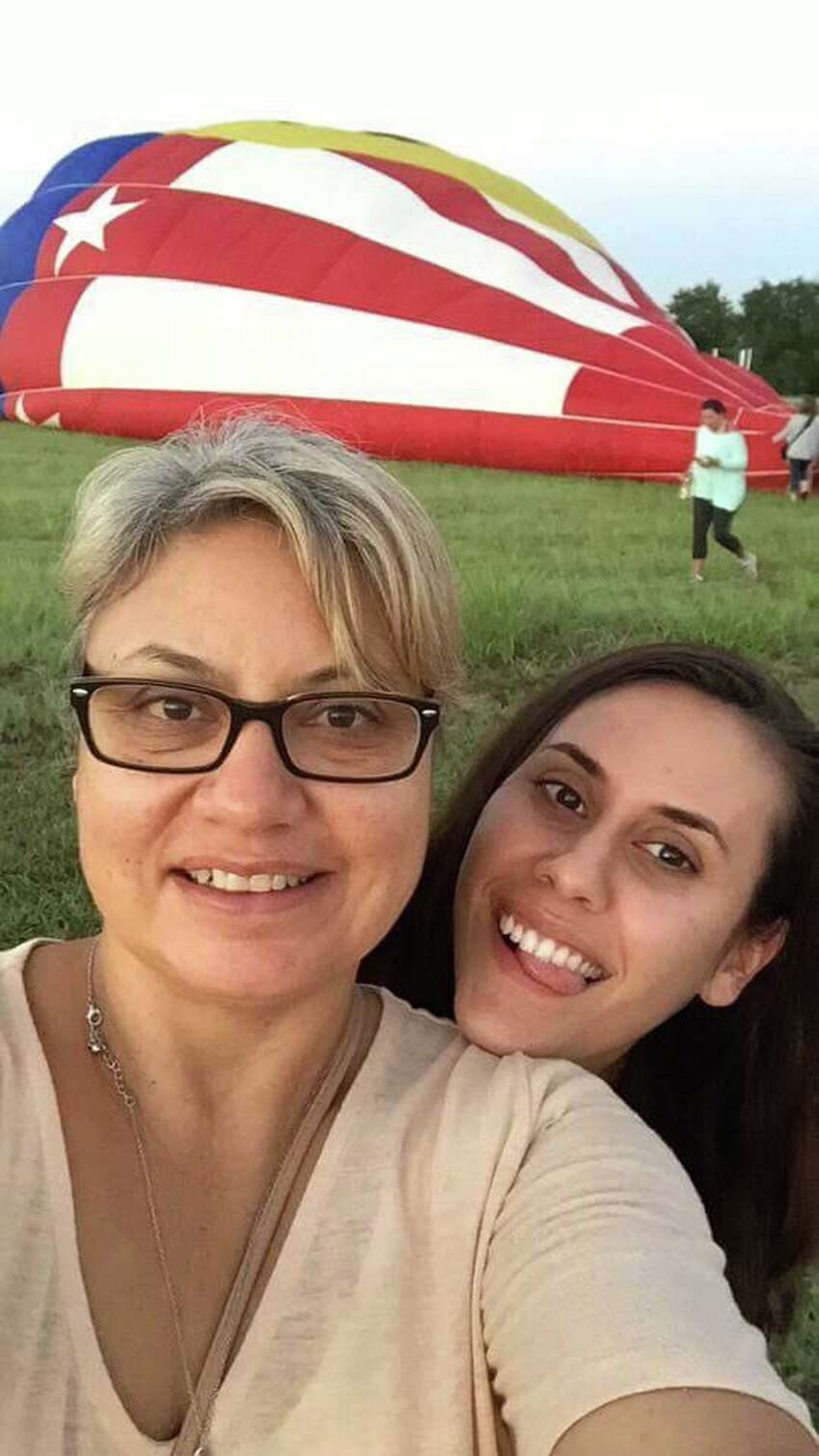 Lorilee, left, and Paige Brabson, right, were killed July 30 in a hot air balloon crash in Lockhart. The father of Paige Brabson's daughter wrote on Facebook July 31 saying,