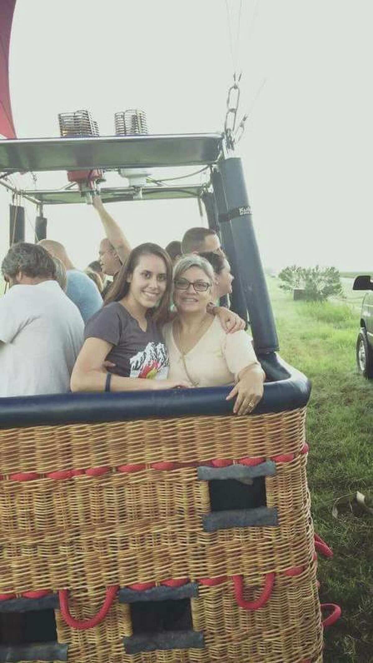 Lorilee, left, and Paige Brabson, right, were among the 16 people killed July 30 in a hot air balloon crash in Lockhart. The mother-daughter pair lived and worked in San Antonio. Paige Brabson leaves behind an 11-month-old baby girl.