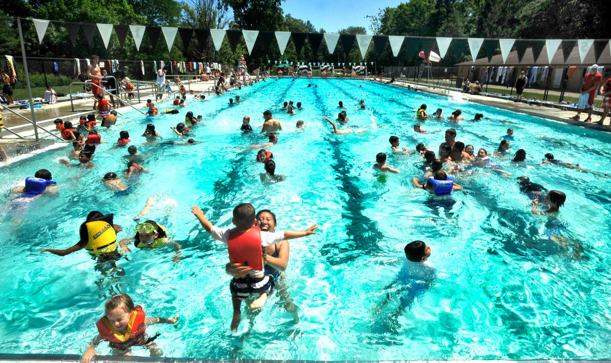 Water service restored at brookfield ymca camp newstimes - Wetherby swimming pool swim times ...