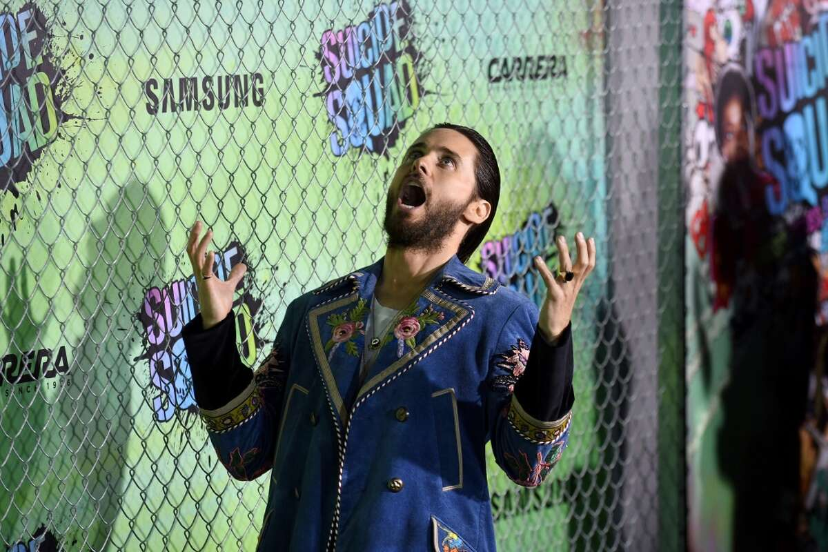 Actor Jared Leto attends the Suicide Squad premiere sponsored by Carrera at Beacon Theatre on August 1, 2016 in New York City.