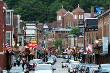 GALENA, ILLINOIS    The historic charm of this mining town's six-block Main Street will make you feel like you took a time machine to a different decade. After you conquer downtown, must-see attractions include the Old Market House and the Historical Society and Museum.