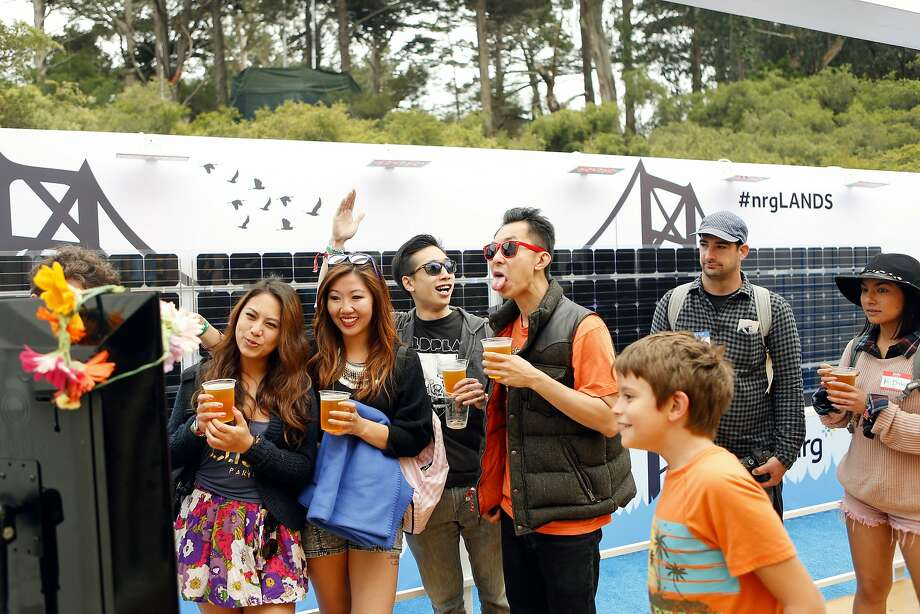 Once again, beverage options will be aplenty at Outside Lands this year. Photo: Alison Yin, Associated Press