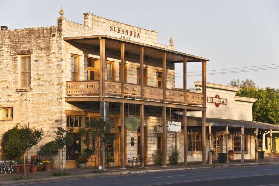 FREDERICKSBURG, TEXAS This small town has surprising German roots and old-time residents even refer to it as Fritztown. But the Magic Mile (a shopping scene with more than 150 stores) and some of the best wine tasting in Texas are what keeps the tourists coming back. Photo:  GETTY