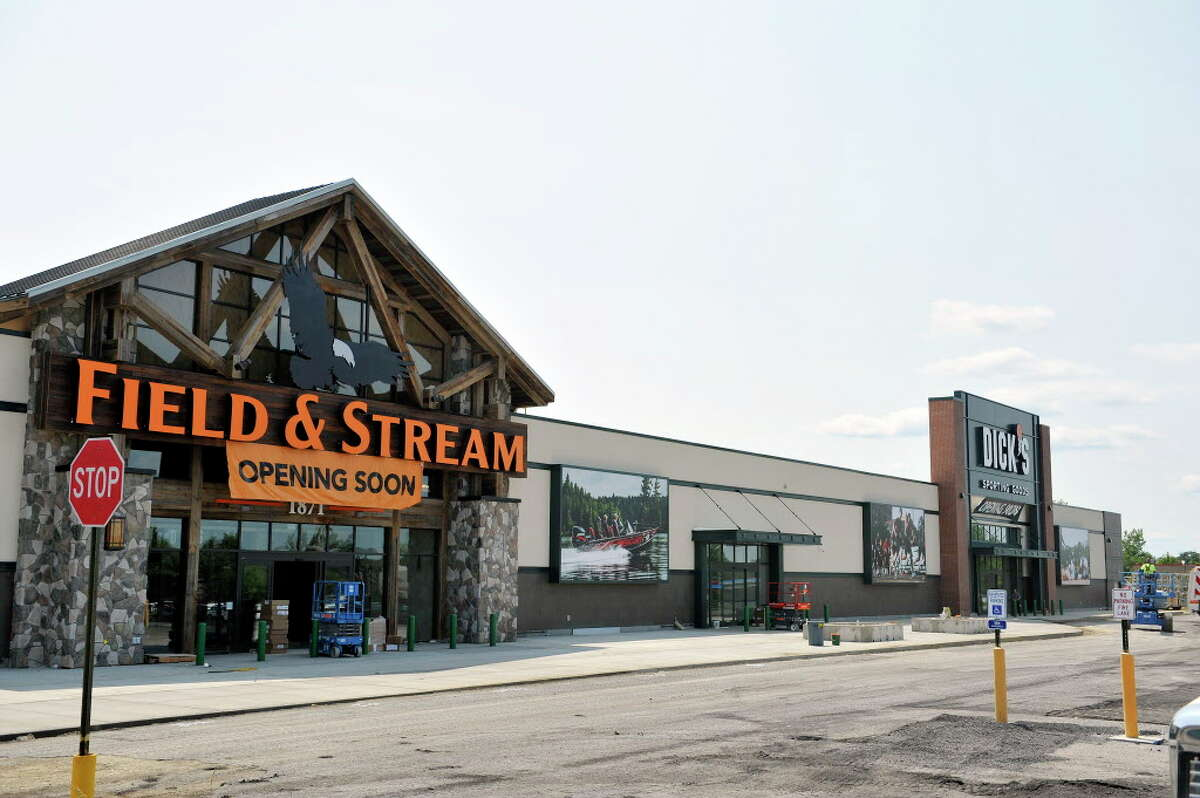 A view of the Dick's/Field and Stream store at Latham Farms, seen here on Wednesday, July 20, 2016, in Colonie, N.Y. (Paul Buckowski / Times Union)