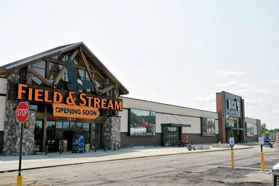 A view of the Dick's/Field and Stream store built at Latham Farms, seen here on Wednesday, July 20, 2016, in Colonie, N.Y.  (Paul Buckowski / Times Union) Photo: PAUL BUCKOWSKI / 20037392A