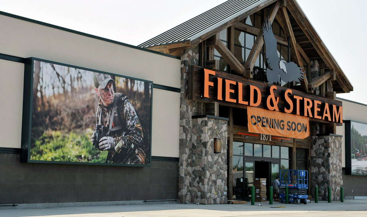 A view of the Dick's/Field and Stream store that is being constructed in the space that last housed a Walmart store at Latham Farms, seen here on Wednesday, July 20, 2016, in Colonie, N.Y. (Paul Buckowski / Times Union)