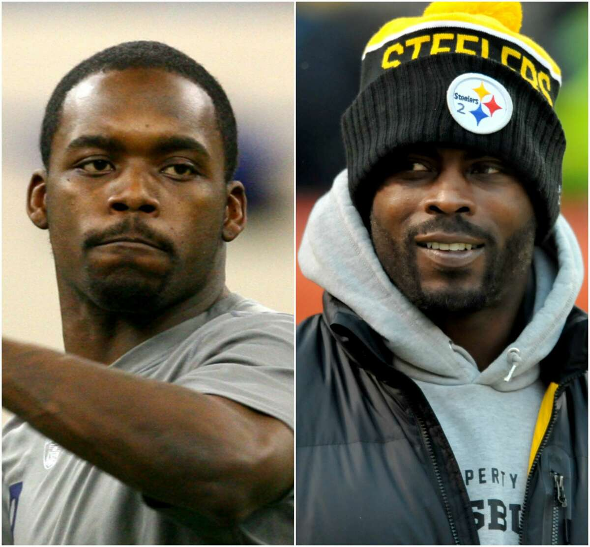 Marcus and Michael Vick Michael (right) is the veteran NFL quarterback whose career had dizzying highs (being drafted first overall) and lows (going to jail for dogfighting). Marcus' claim to fame other than briefly playing at his big brother's alma mater Virginia Tech is for his off-the-field issues and tweets criticizing his brother's teammates.