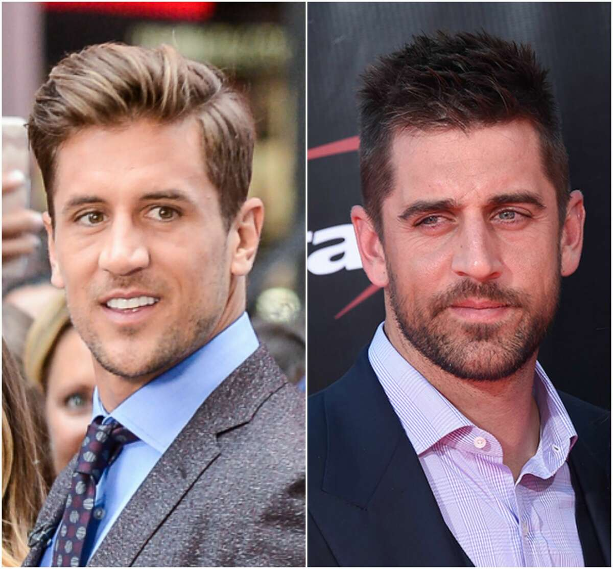 """The """"winner"""" of this week's """"The Bachelorette"""" finale was Jordan Rodgers (left), the younger brother of NFL star Aaron Rodgers.While his brother stars for the Packers, Jordan bounced around to three different practice squads and Canada. Click through the gallery to see other star athletes and their lesser-known athletic siblings."""