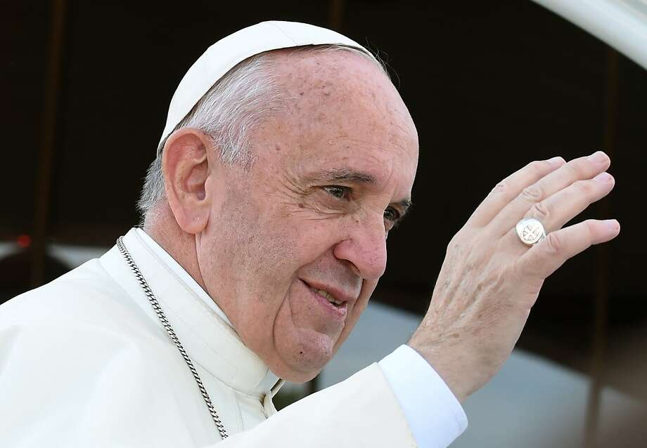 """FILE -  In this Saturday, July 30, 2016 file photo, Pope Francis greets faithful as he arrives at the Shrine of Divine Mercy in Krakow, Poland. Pope Francis has set up a panel to study whether women could serve as deacons, a role now reserved to men. The Vatican said Tuesday, Aug. 2, 2016 Francis """"after intense prayer and mature reflection"""" decided to set up the commission, with 12 members, six men and six women, including priests, nuns and laywomen. (AP Photo/Alik Keplicz) Photo: Alik Keplicz, Associated Press"""