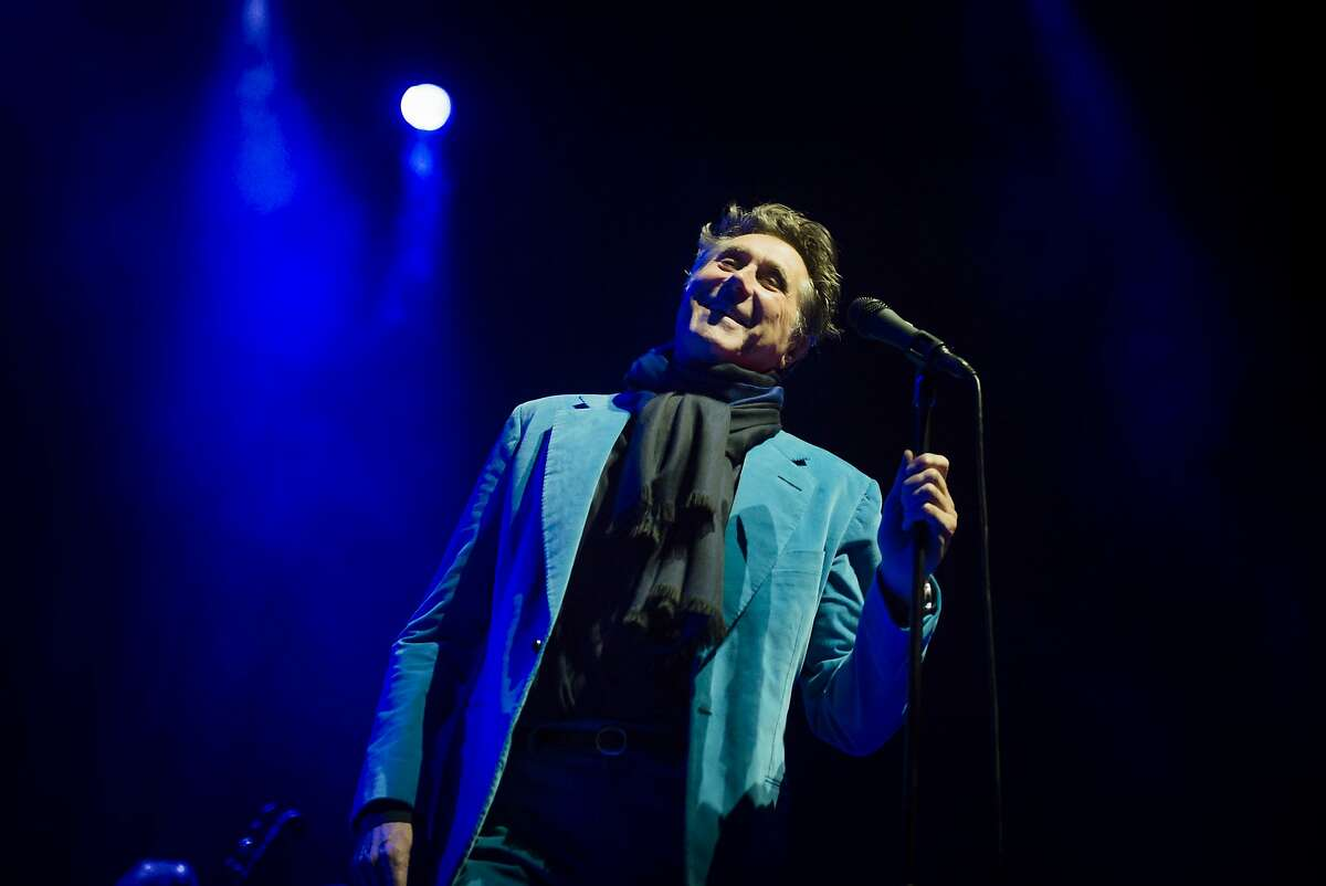 Bryan Ferry performs on stage at Heineken Music Hall on November 18, 2014 in Amsterdam, Netherlands. (Photo by Dimitri Hakke/Redferns via Getty Images)