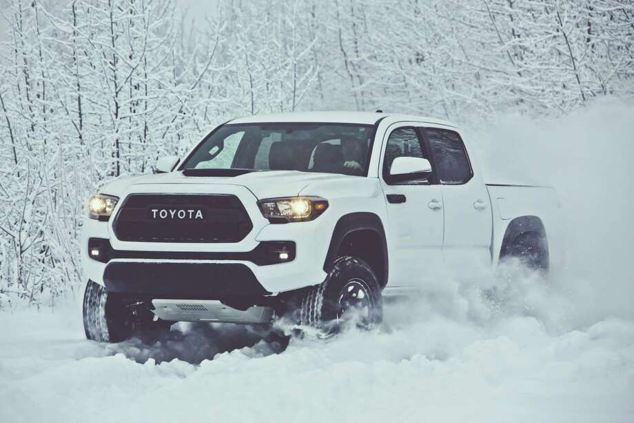 Toyota's 2017 Tacoma TRD Pro was unveiled in February 2016. Toyota announced it has sold 19,137 pickup trucks in January, a 4.1 percent fall from January 2016. Photo: Toyota