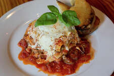Lasagna on White Plate. (Photo by: UIG Platinum/UIG via Getty Images)