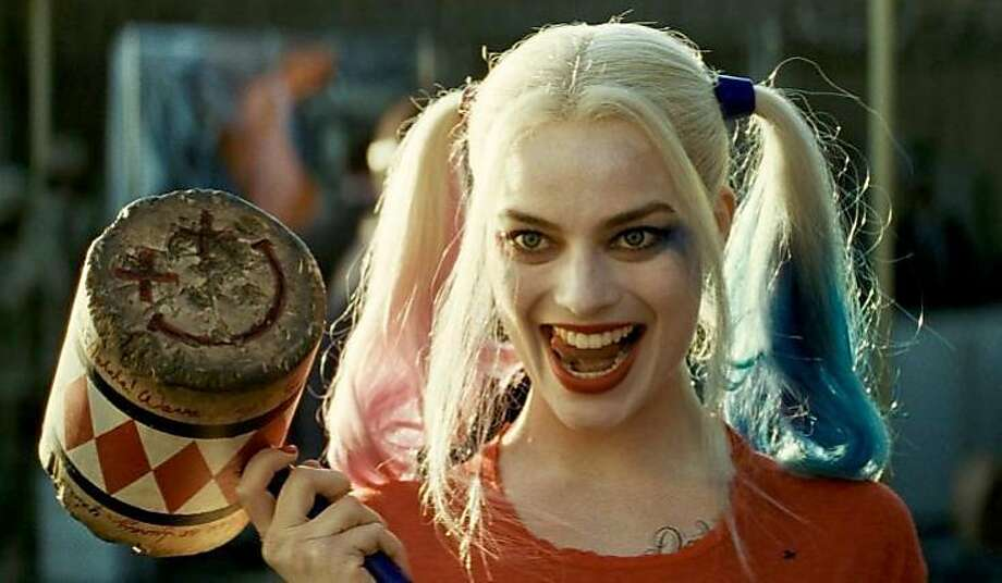 "Margot Robbie is Harley Quinn in ""Suicide Squad."" Photo: Warner Bros. Pictures"