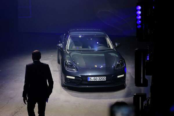 """Of the Porsche Panamera, kbb.com says: """"This thing has stage presence."""""""