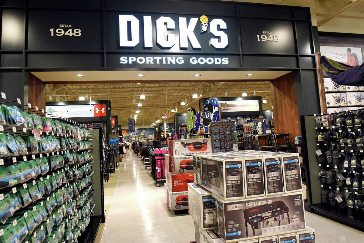 Dick's Sporting Goods has one side of a combined store with Field & Stream in their new location on Tuesday, Aug. 2, 2016, at Latham Farms in Latham, N.Y. (Cindy Schultz / Times Union)