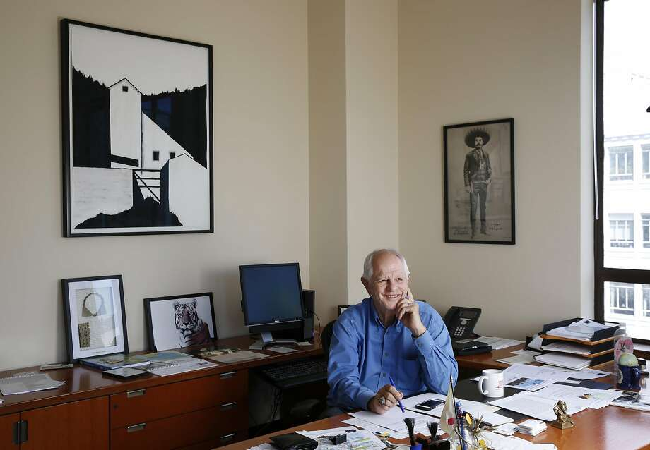 Berkeley Mayor Tom Bates pictured in his office in the Martin Luther King, Jr. Civic Center Building in Berkeley. Photo: Leah Millis, The Chronicle