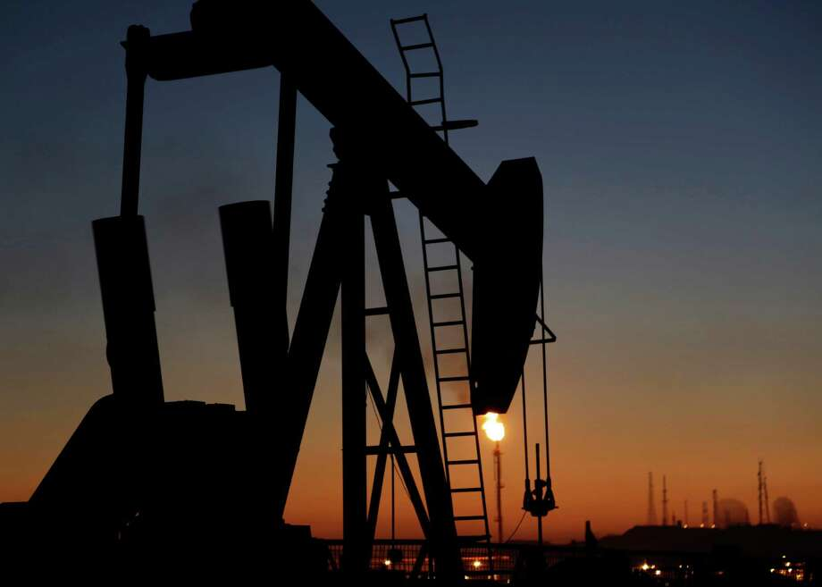 West Texas Intermediate for October delivery traded at $67.87 a barrel on the New York Mercantile Exchange, up 33 cents, at 10:09 a.m. in London.  Photo: Hasan Jamali /Associated Press / AP