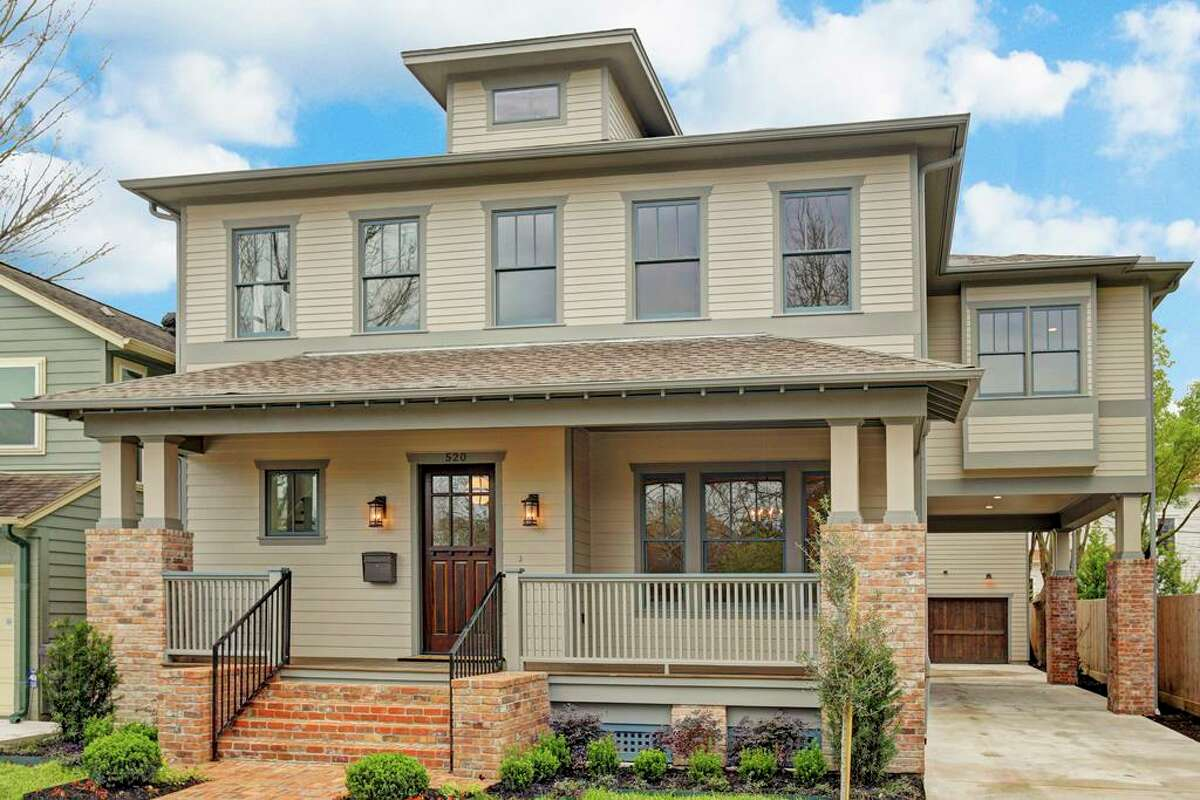 Click to see new homeconstructionsin the Houston area: 520 East 25th in the Greater Heights Listing price: $1,379,000 Square feet: 4,764