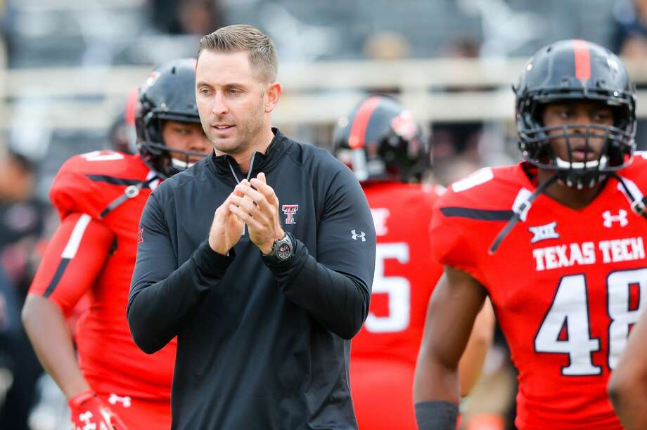 Coach Kliff Kingsbury will begin his fifth season leading Texas Tech Saturday. The Red Raiders kick off against Eastern Washington at 3 p.m. in Lubbock. Photo: John Weast/Getty Images