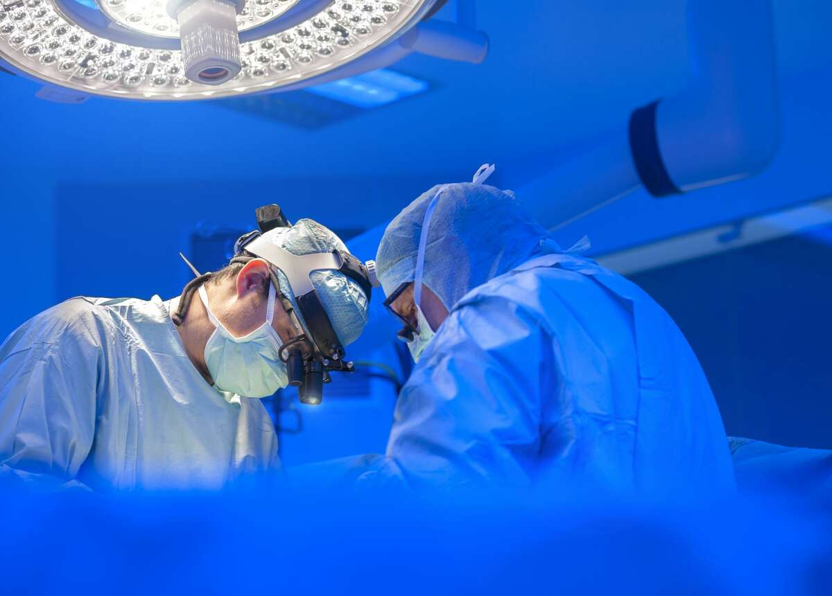 Doctors and medical professionals are shown in this Getty stock image.